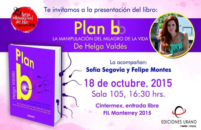 Invitación presentación FB